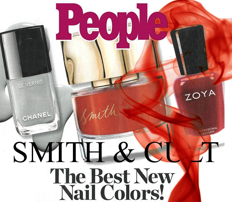 Лаки Smith and Cult Tang Bang в People Magazine